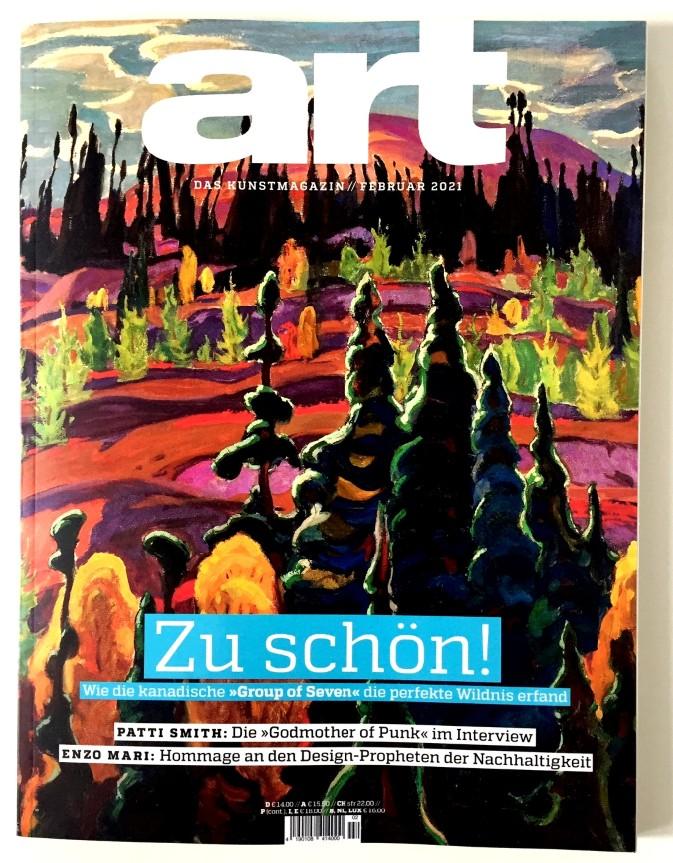 art - Das Kunstmagazin Ausgabe 02.2021