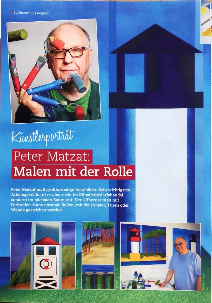 Künstlerportrait Peter Matzat